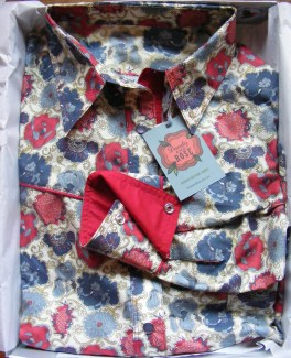 Shirt made for Amy Beth Hale in Liberty 'Lucy Daisy'