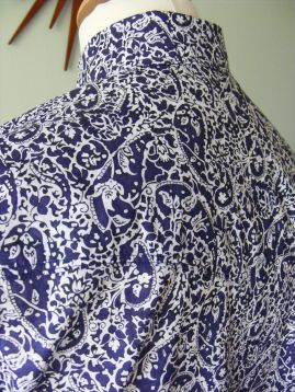 Michael's shirt in Liberty's paisley 'Lagos Laurel'
