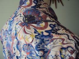 Jim Lauderdale's shirt in Liberty 'Wendy Woo'