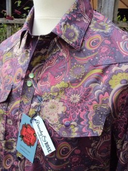 Jamie Freeman's shirt in Liberty 'Amelia Star' https://dandyandrose.com/2013/09/18/new-collection/