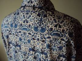 Sharron Manley's shirt in Liberty 'Lodden'