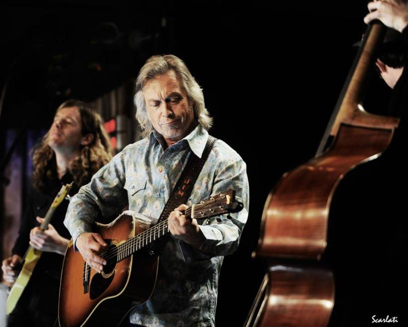 Jim Lauderdale in his commissioned shirt in Liberty 'Hera' Photograph by Anthony Scarlati