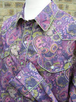 Shirt made for David Liston in Liberty 'Amelia Star'