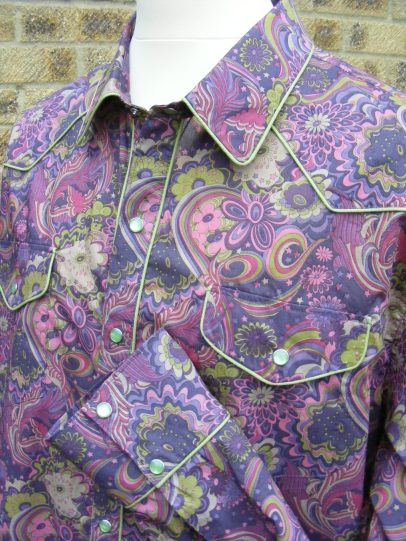 Shirt made for David Liston in Liberty 'Amelia Star'