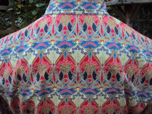 James Burke's shirt in Liberty 'Ianthe'