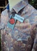 Jim Lauderdale's short sleeve shirt in Liberty 'Hera'