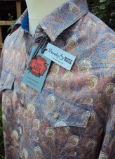 Jim Lauderdale's short sleeve shirt in Liberty 'Hera'