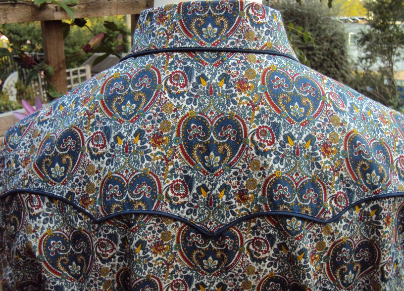 Shirt made for Danny George Wilson in Liberty 'Kitty Grace A'