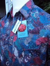 Shirt made for Jim Lauderdale in Liberty 'Midnight A' https://dandyandrose.com/2014/10/09/twinkle-twinkle/