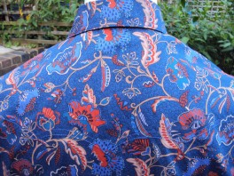 Shirt made for Jim Lauderdale in Liberty 'Poppyseed Dreams A'