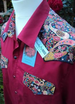 Andy Washington's shirt with yokes in 'Marky'