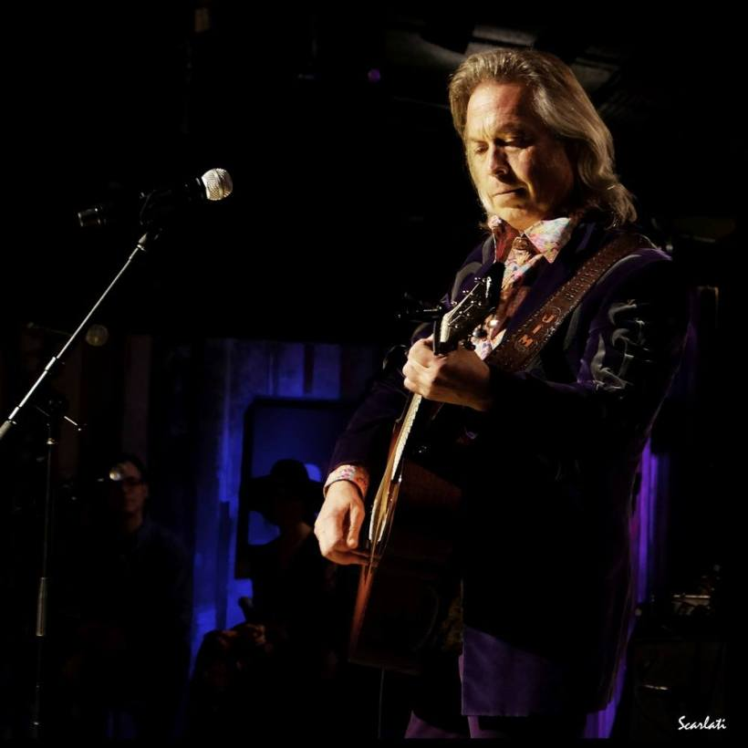 Jim Lauderdale in velvet suit by Manuel Couture and Dandy & Rose shirt