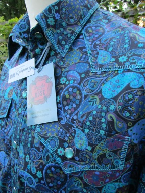 Jim Lauderdale's shirt in Liberty of London's 'Marky'