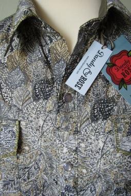 John Morgan's shirt in Liberty's Leaf print