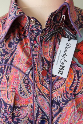Jim Lauderdale's shirt in Liberty of London's 'Felix and Isabelle' https://dandyandrose.com/2016/10/22/dandy-rose-on-display/