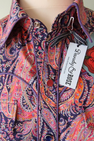 Jim Lauderdale's shirt in Liberty of London's 'Felix and Isabelle'