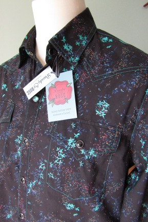 Jim Lauderdale's shirt in Liberty of London's Chinese style floral