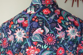 Jim Lauderdale's shirt in Liberty of London's passion flower print