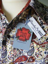 Jim Lauderdale's shirt in Liberty of London's paisley 'Mark'