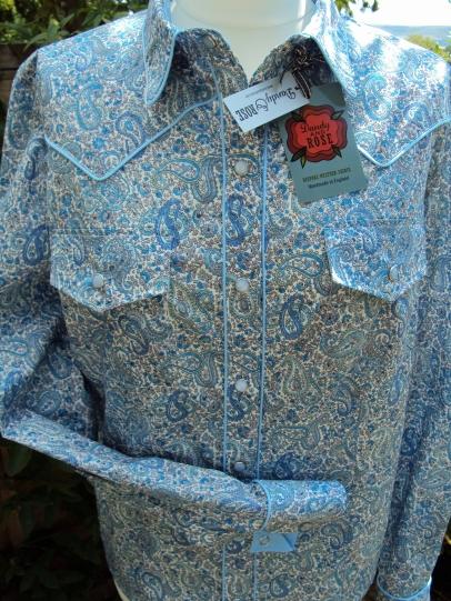Lorna Simes' shirt in Liberty's 'Charles'