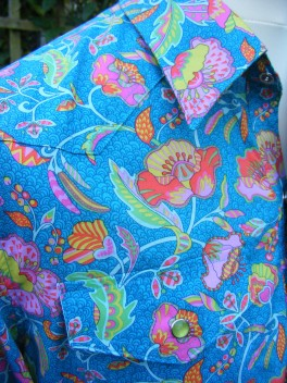 Jim Lauderdale's shirt in Liberty 'Poppyseed Dreams B'