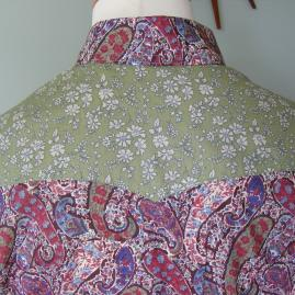 back yoke Bourton/Capel mixed prints