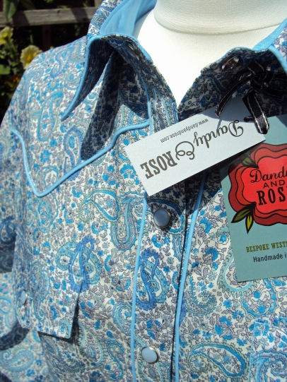 Lorna Simes' shirt in Liberty London's 'Charles'