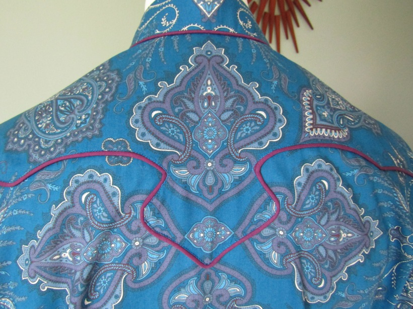 Dean Owens' shirt in 'Lady Paisley'