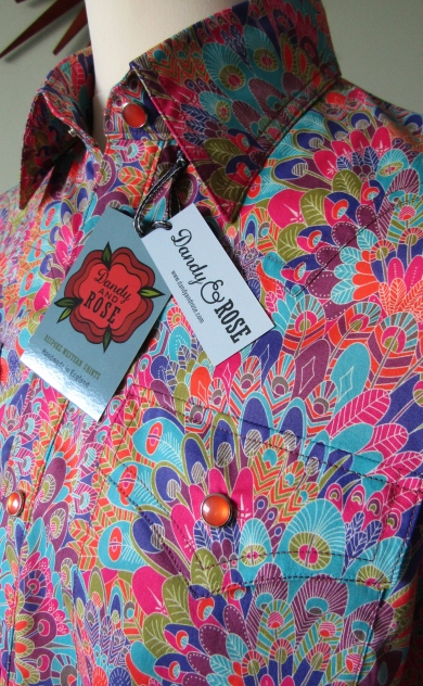 Jim Lauderdale's shirt in Liberty London's print 'Eben'
