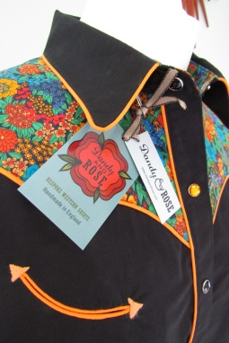 Lorna Simes' shirt with yokes in Liberty's 'Ciara'