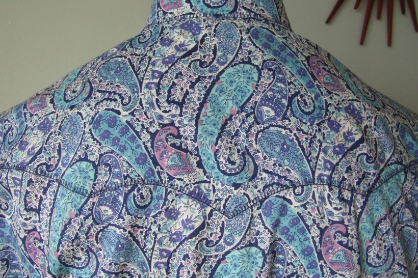 Bourton blue back yoke