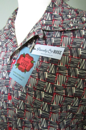 Danny George Wilson's shirt in Liberty London's 'Strike'
