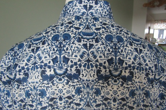 Thor Platter's shirt in Liberty's 'Lodden'