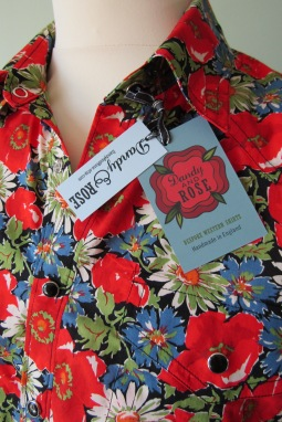 Jim Lauderdale's shirt in vintage floral Liberty print