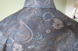 Mark's shirt in Liberty's psychedelic Liberty floral print