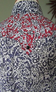 Bill's shirt in Liberty paisley print