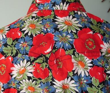 Jim Lauderdale's shirt in vintage floral Liberty print