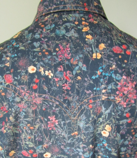 Jim Lauderdale's shirt in Liberty's 'Wild Flower' print